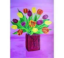 Easter tulips Photographic Print