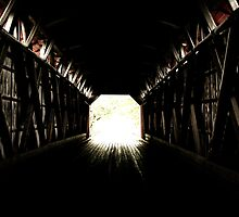 Light at the end of the tunnel by Debellez