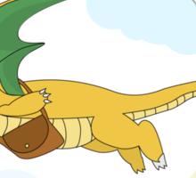 Dragonite's Delivery Service Sticker