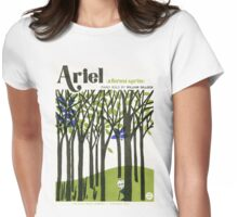 ARIEL (vintage illustration) Womens Fitted T-Shirt