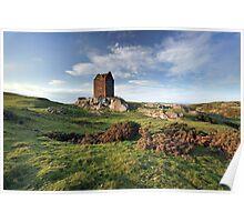 Smailholm Tower Landscape Poster