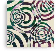 Glitch Ripples Canvas Print