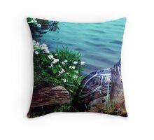 nature-Turtle  Throw Pillow