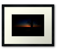 A Beautiful Beginning Framed Print