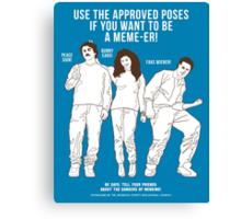 Acceptable Memes Canvas Print