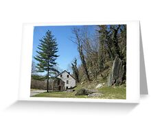 Old House in Harpers Ferry, WV Greeting Card