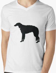 Borzoi Mens V-Neck T-Shirt