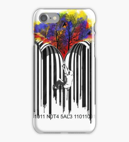 unzip the colour wave iPhone Case/Skin