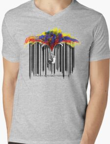 unzip the colour wave Mens V-Neck T-Shirt