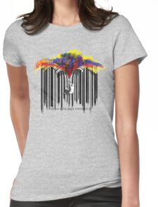 unzip the colour wave Womens Fitted T-Shirt