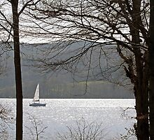 Sailing on Lake Windermere by Astrid Ewing Photography