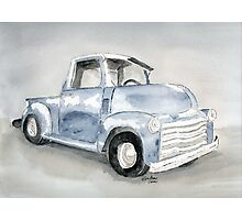 Old Pick Up truck Photographic Print