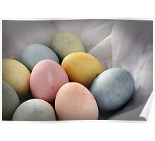 Naturally-Colored Eggs Poster