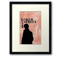 Baker Street Poster Framed Print