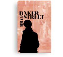 Baker Street Poster Canvas Print