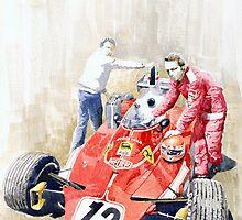 Ferrari 312T Monaco GP 1975 Niki Lauda winner by Yuriy Shevchuk