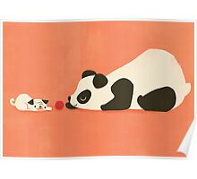 The Pug and the Panda Poster