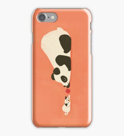The Pug and the Panda iPhone Case/Skin