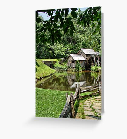 More Mill Greeting Card