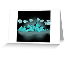 iceland islands Greeting Card