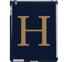 Weasley Sweater Letter H iPad Case/Skin