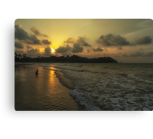 Indonesian Sunset Canvas Print