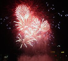 Singapore: New Year Celebrations by Kasia-D