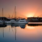 Good Morning Raby Bay - Cleveland Qld Australia by Beth  Wode