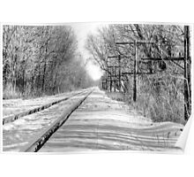 Rail to somewhere Poster
