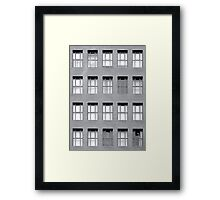 Windowpane Framed Print