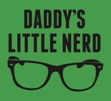 Daddy's Little Nerd Kids Tee