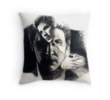 David Boreanaz, featured in Shameless Self-Promotion  Throw Pillow