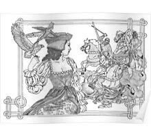 Celtic Joust Poster