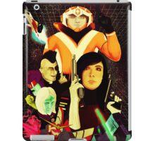 Galak-Z Vintage Poster iPad Case/Skin