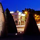 Sailors Rest and Shark Fins, Geelong by Helen Green