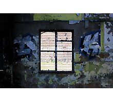 Graffiti Window Photographic Print