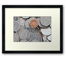bad penny Framed Print