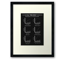 Drinking: The Sweet Science Framed Print