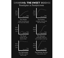 Drinking: The Sweet Science Photographic Print