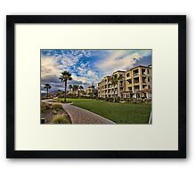 A place to get away Framed Print