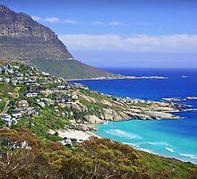 Cape Town Coastline by fernblacker