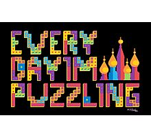 Tetris Puzzling Photographic Print