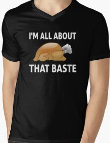 I'm All About That Baste Mens V-Neck T-Shirt