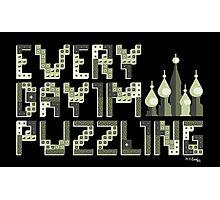 Tetris Puzzling Original Photographic Print