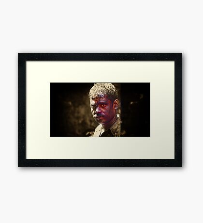 Man of Color Framed Print
