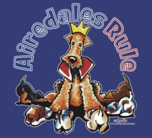 Airedales Rule by offleashart