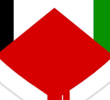 PALESTINE BLEEDING HEART Sticker