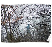 Statue of Liberty As Viewed From Liberty State Park, New Jersey Poster