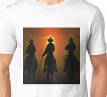 Riders To The West Unisex T-Shirt
