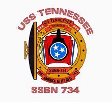 USS Tennessee (SSBN-734) Crest Unisex T-Shirt